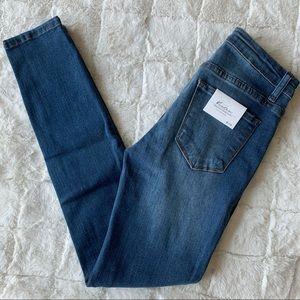 KanCan NEW Medium Blue Skinny Jeans 5 / 26